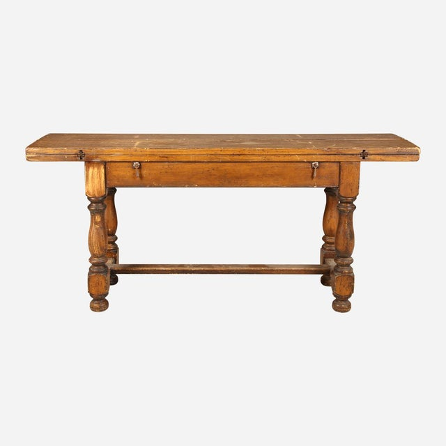 French French Folding Console Table For Sale - Image 3 of 8