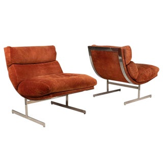 Pair of Lounge Chairs by Kipp Stewart for Directional For Sale