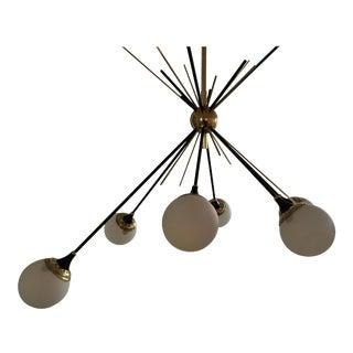 "Stilnovo Style ""Cluster"" Chandelier For Sale"