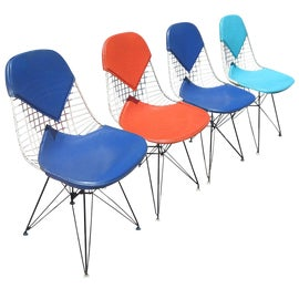 Image of Charles Eames Dining Chairs