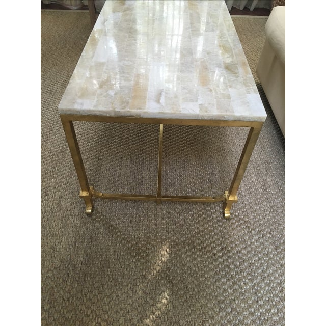 Currey and Co Coffee Table - Image 3 of 8