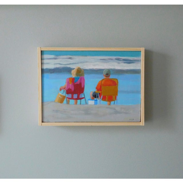 """Anne Carrozza Remick """"August"""" Painting - Image 5 of 5"""