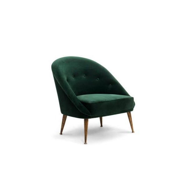 The ethnicities of the mesmerizing Malay Archipelago inspired the creation of MALAY Velvet Armchair, a twist on mid-...