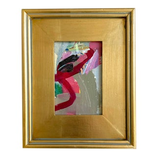 2020 Abstract Mini Painting by Jessalin Beutler For Sale