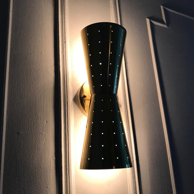 Mid-Century Moe Lighting Bow Tie Sconce - Image 4 of 4