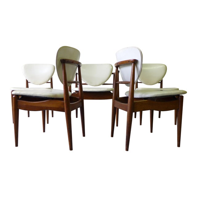 Mid-Century John Stuart Dining Chairs - S/6 For Sale
