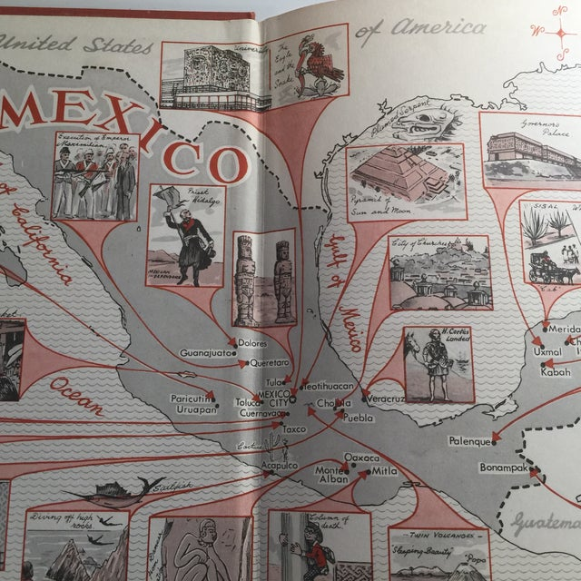 Traditional Mexico a Country of Contrasts Book, 1967 For Sale - Image 3 of 10