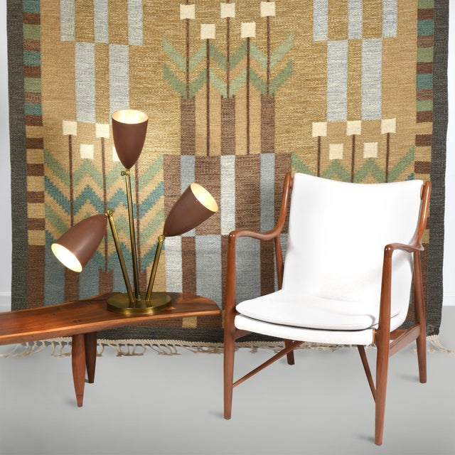 Animal Skin Finn Juhl Pair of Lounge Chairs, 1950s For Sale - Image 7 of 7