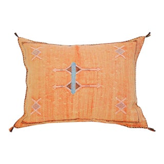 Moroccan Peach Sabra Pillow