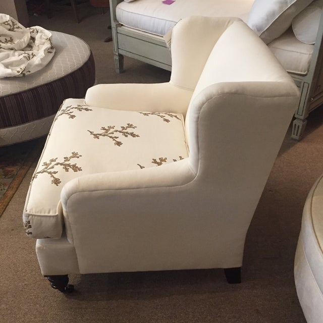Barclay Butera Taylor Wing Chair - Image 3 of 11