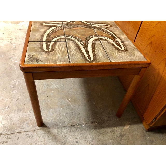 Wood 1977 Danish Modern Trioh Ox Art Coffee Table For Sale - Image 7 of 8