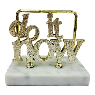 "Vintage ""Do It Now"" Mail Holder For Sale"