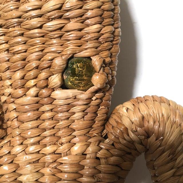 Metal Vintage Mario Lopez Torres Woven Iguana Figurine For Sale - Image 7 of 10