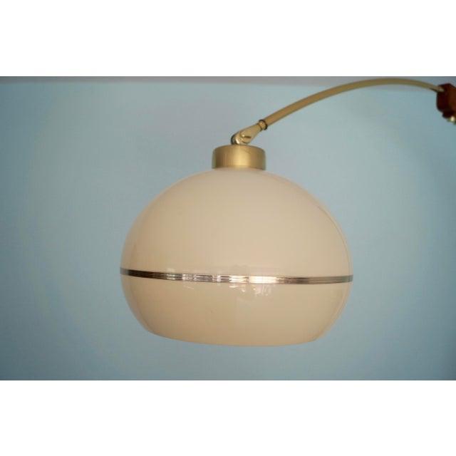 Mid-Century Modern Nova Lighting Arc Floor Lamp For Sale In Los Angeles - Image 6 of 11