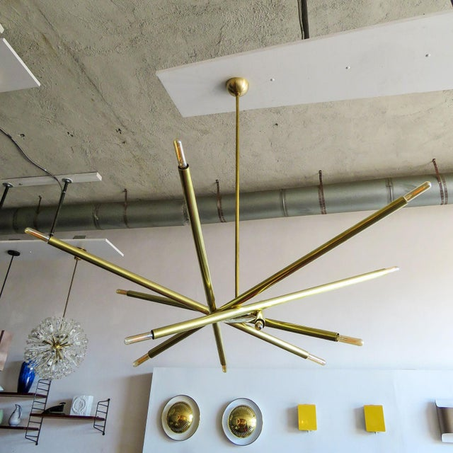 Not Yet Made - Made To Order Gallery L7 Spiral As-6 Chandelier For Sale - Image 5 of 11