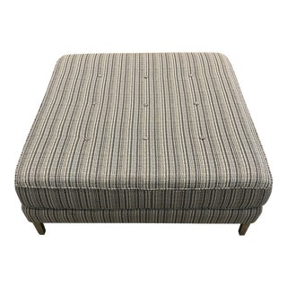 Custom Upholstered Coffee Table For Sale