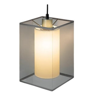 Madison Light With Transparent Smokey Outer Cover For Sale