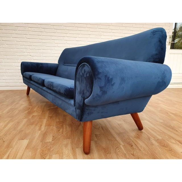 1960s Vintage Kurt Østervig Danish 3 Seater Sofa For Sale - Image 9 of 13