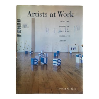 """Artists at Work Inside the Studios"" Rare Vintage 1999 1st Edition Collector's Modern Art PhotographyBook For Sale"