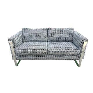 Rare Milo Baughman Loveseat Sofa