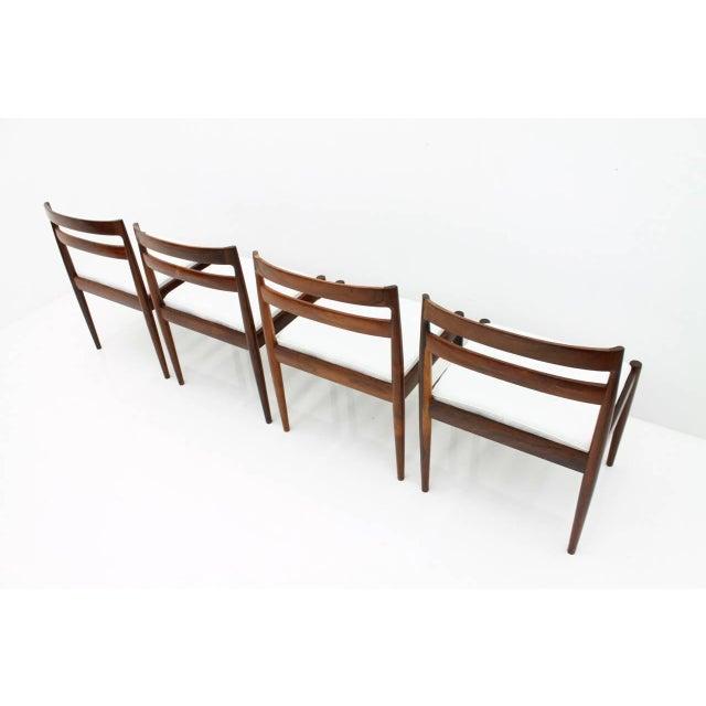 "Kai Kristiansen Dining Chairs ""Universe 301"" for Magnus Olesen Denmark 1960s For Sale - Image 11 of 13"