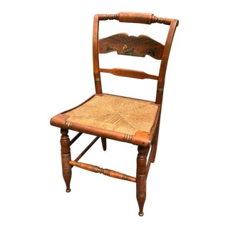 Vintage Mid-Century Ethan Allen L. Hitchcock Eagle Side Chair For Sale