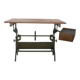 20th Century Industrial Hamilton Drafting Table For Sale