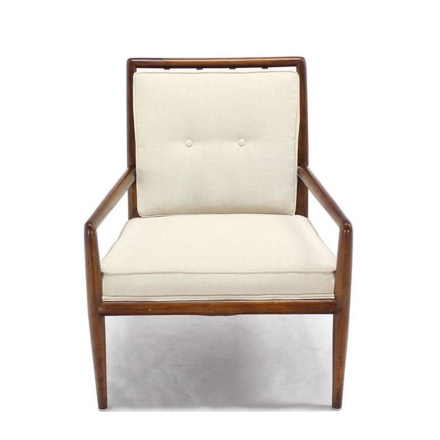 Early 20th Century Newly Upholstered Gibbings Lounge Arm Chair For Sale - Image 5 of 8