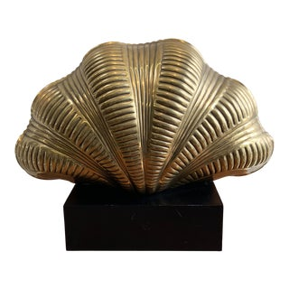 Mid-Century Shell Lamp by Chapman For Sale