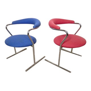 Anton Lorenz For Thonet Mid-Century Chairs For Sale