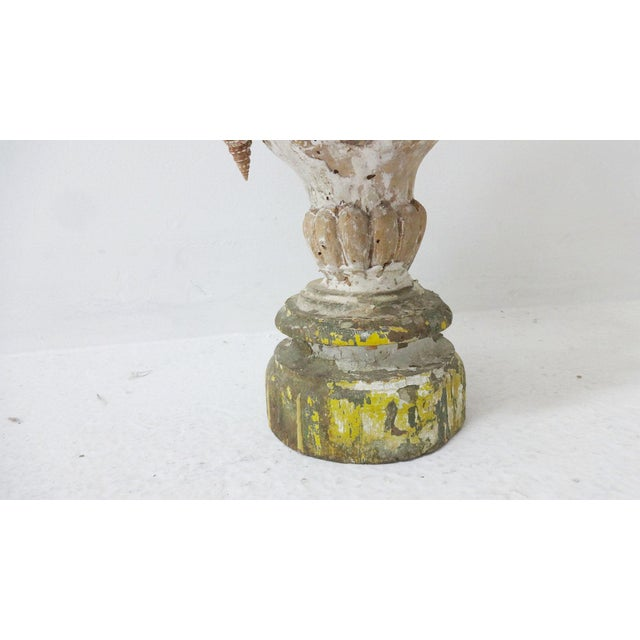 Late 20th Century 18th Century Italian Nautical Shell Sculpture on Wooden Base For Sale - Image 5 of 9