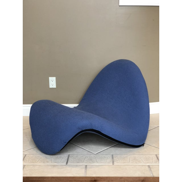 Pierre Paulin for Artifort Green and Blue Tongue Chairs For Sale - Image 11 of 12