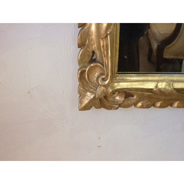 19th C. Italian Carved Giltwood Mirror - Image 5 of 6