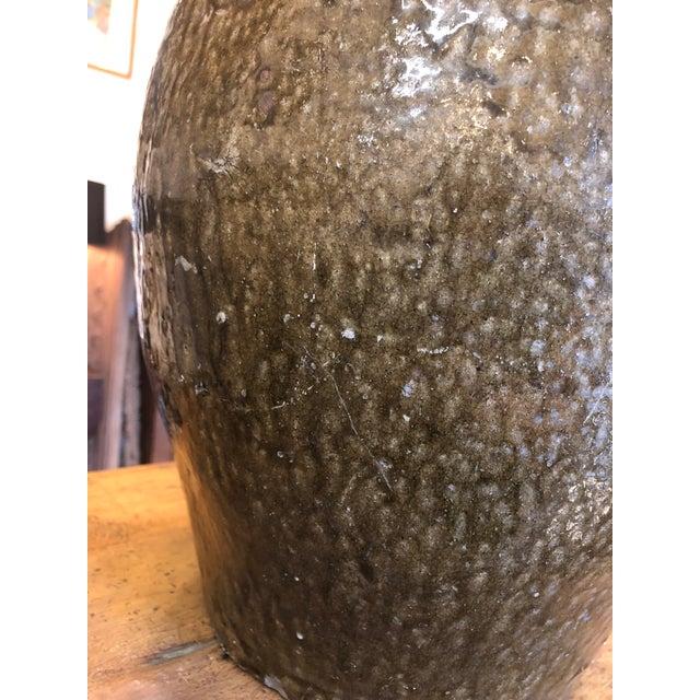 Four Gallon Glazed Stoneware Jug For Sale - Image 11 of 13