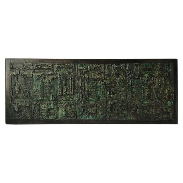 Large Abstract Impasto Painting by John Stritch For Sale - Image 11 of 11