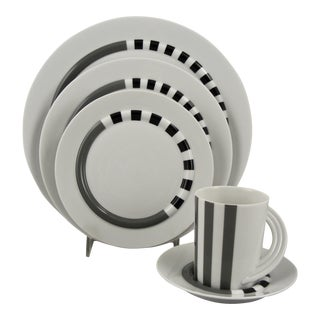 Rosenthal Cupola Strata 5 Piece Place Setting For Sale