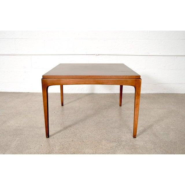 Lane Furniture Mid Century Lane Walnut Coffee Table For Sale - Image 4 of 10