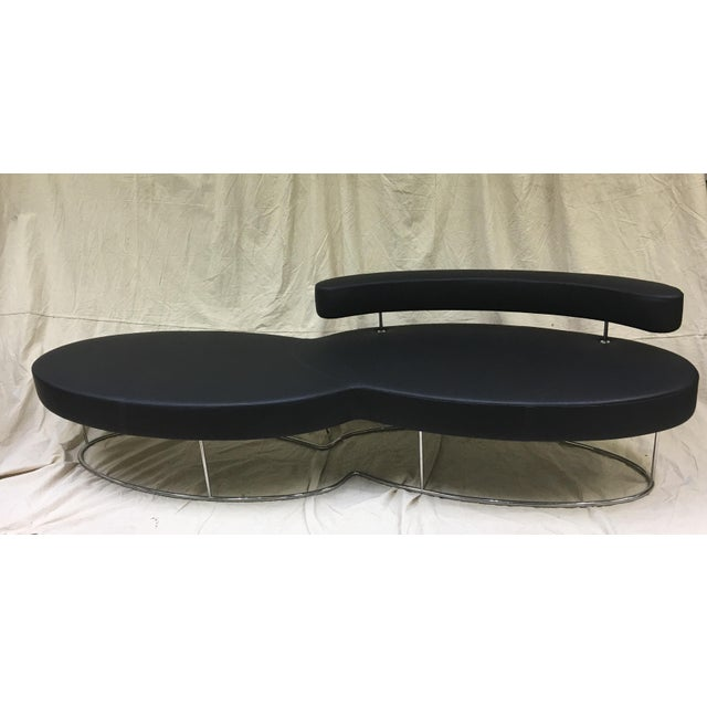 "Jacob Pringiers ""Twice"" Bench With Back For Sale - Image 5 of 5"