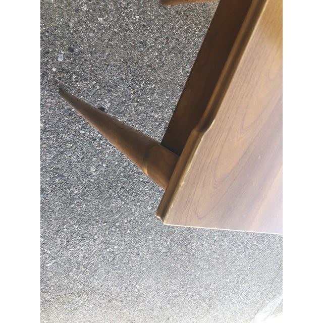 Mid Century Modern Brown Saltman Dining Table For Sale - Image 9 of 10