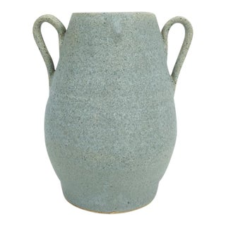 Speckled Vintage Pottery Vase