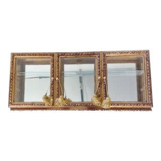 Italian Vitrine/Wall Cabinet For Sale