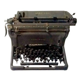Antique Underwood Typewriter For Sale