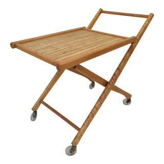 Danish Modern Tea Cart For Sale