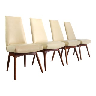 Set of Four ( 4 ) Adrian Pearsall Model 1613-C Dining Chairs for Craft Associates For Sale