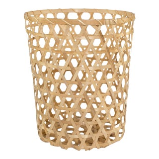Medium Open Cane Planter Basket