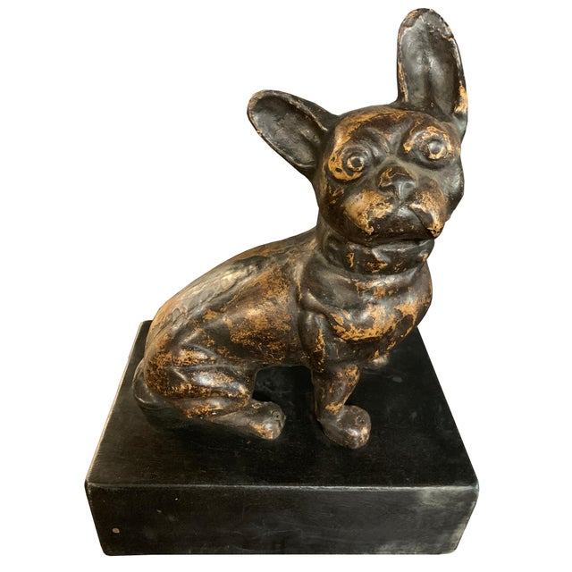 Art Deco Large Sitting Fido For Sale - Image 3 of 3