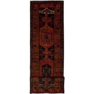 "Meshkin Vintage Persian Rug, 3'5"" x 13'5"""