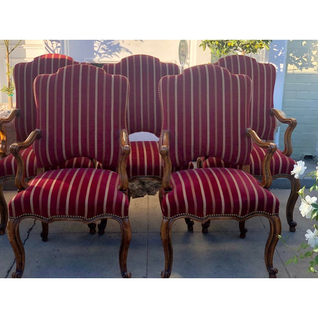 Minton Slidell Regence French Regency Dining Chairs - Set of 6
