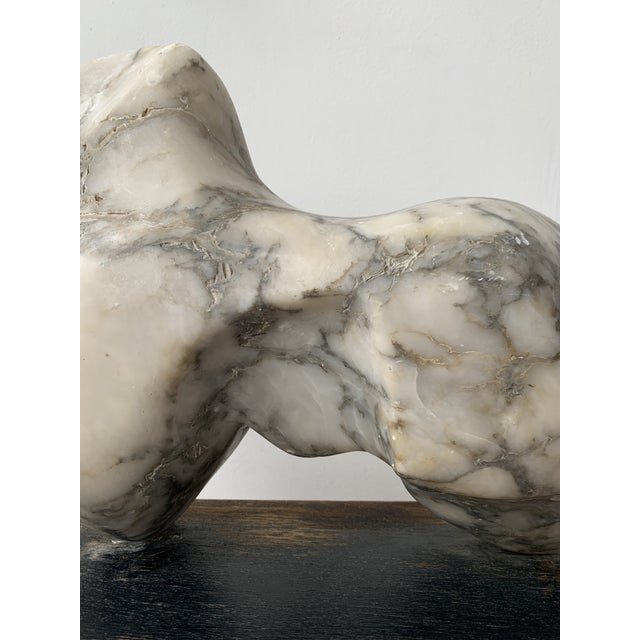 1960s Vintage Abstract Marble Sculpture For Sale - Image 5 of 13