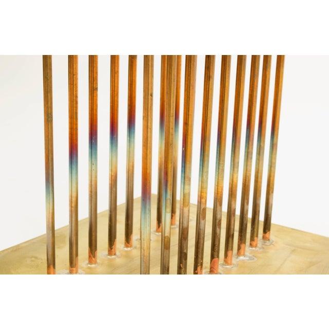 Metal Bertoia Studios Sonambient Sculpture by Val Bertoia For Sale - Image 7 of 11